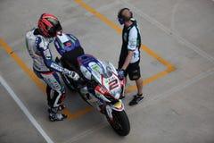 Superbike 2013 Imola Leon Carnier Zdjęcie Royalty Free