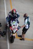 Superbike 2013 Imola Leon Carnier Stock Photos