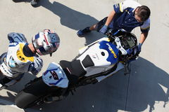 Superbike 2013 Imola Marco Melandri Stock Photography