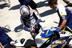 Superbike 2013 Imola Marco Melandri Royalty Free Stock Images