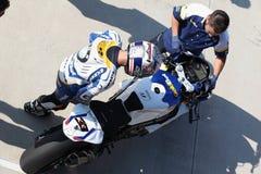 Superbike 2013 Imola Marco Melandri Stock Images