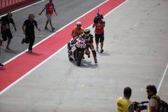 Superbike 2013 Imola Michel Fabrizio Zdjęcia Royalty Free