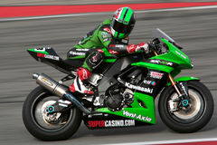 Superbike Kawasaki Royalty Free Stock Photos