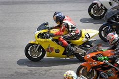 Superbike Race Stock Images
