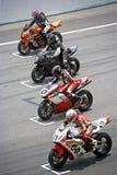 Superbike Rennen Lizenzfreie Stockfotografie