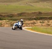 Superbike Suzuki GSXR1100 Stock Photo