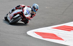 Superbike Team Althea Racing Ducati Carlos Checa Royaltyfria Bilder