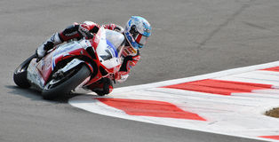Superbike Team Althea Racing Ducati Carlos Checa Stock Image