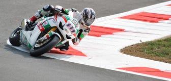 Superbike Team Castrol Honda Ruben Xaus Royalty Free Stock Image