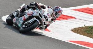 Superbike Team Pata Racing Aprilia Noriyuki Haga Royalty-vrije Stock Fotografie
