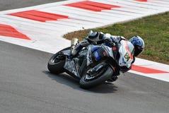 Superbike Team Suzuki Alstare Michel Fabrizio fotografie stock libere da diritti