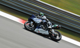 Superbike Team Yamaha World Superbike Eugene Laverty fotografie stock libere da diritti