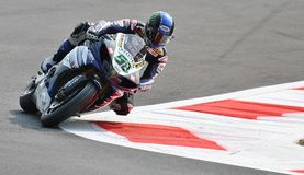Superbike Team Yamaha World Superbike Eugene Laverty Royaltyfri Fotografi