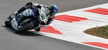 Superbike Team Yamaha World Superbike Eugene Laverty Arkivfoto