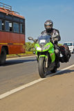 Superbike Tourer Stock Photos