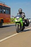 Superbike Tourer Arkivfoton
