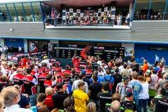 Superbike Wolrd Championship podium Stock Photography