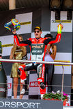 Superbike Wolrd Championship podium Royalty Free Stock Image