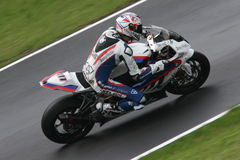 Superbike xaus. Ruben Xaus photographed in Monza, during the italian round of the superbike world championship 2010 Stock Photography