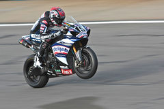 Superbike Yamaha No.19 Stock Photos