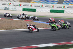 Superbikes 2011 Imagem de Stock Royalty Free