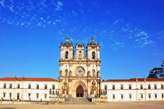 Superbly preserved  monastery. Portugal, Alkobasa.  Superbly preserved Catholic monastery Royalty Free Stock Images