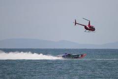 Superboat na morzu Mistrzostwa Obraz Royalty Free