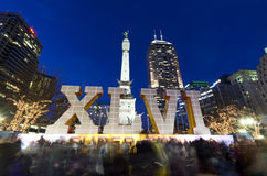 Superbowl 46 Indianapolis Royalty Free Stock Photography