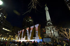 Superbowl 46 Indianapolis royalty free stock photo