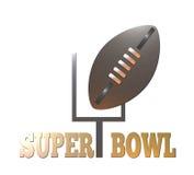 Superbowl di football americano royalty illustrazione gratis