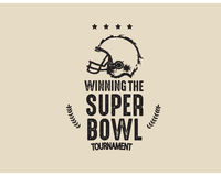 Superbowl tournament Royalty Free Stock Photography