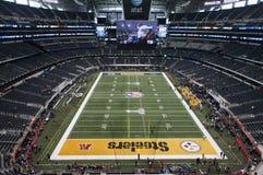 Superbowl XLV bij het Stadion van Cowboys in Dallas, Texas Stock Afbeelding