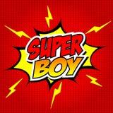 SuperBoy. Stock Photo