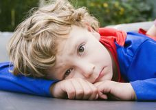 Superboy is Sad Stock Photography