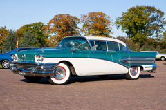 superbuick 1958 Royaltyfria Bilder