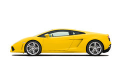 Supercar Royalty Free Stock Photo