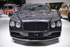 Supercar Bentley Flying Spur Royalty-vrije Stock Foto's