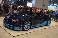 Supercar Bugatti Veyron Stock Photo