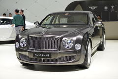 Supercar de Bentley Mulsanne Extreme Edition Foto de archivo