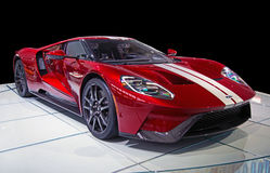 Supercar de Ford GT Photos libres de droits