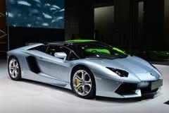 Supercar de Lamborghini Aventador Images libres de droits