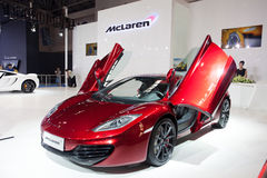 Supercar de McLaren Photographie stock