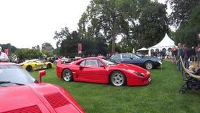 Supercar di Ferrari F40 archivi video