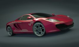 Supercar di Mclaren MP4 12C fotografia stock