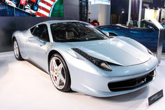 Supercar Ferrari 458 Stock Photography