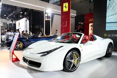 Supercar Ferrari 458 Stock Photos