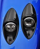 Supercar headlights Royalty Free Stock Photos