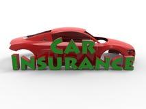 Supercar insurance concept Stock Photography