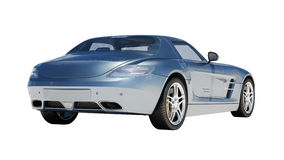 Supercar isolated on a light background Royalty Free Stock Image
