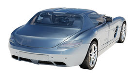 Supercar isolated on a light background Royalty Free Stock Photo